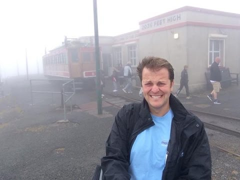 Alex in the Afternoon at the 120th Anniversary of Snaefell Mountain Railway