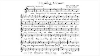 Tia Nắng Hạt Mưa | Bài 7 | Lớp 6 | Có Lời | ALIN MUSIC SCHOOL