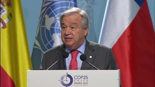 Critical Juncture in Efforts to Limit Global Warming – UN Chief at UN Climate Change Conference