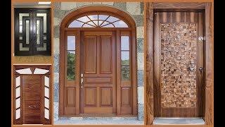 Top 50 Modern Wooden Main Door Designs for Home 2018- Plan N Design