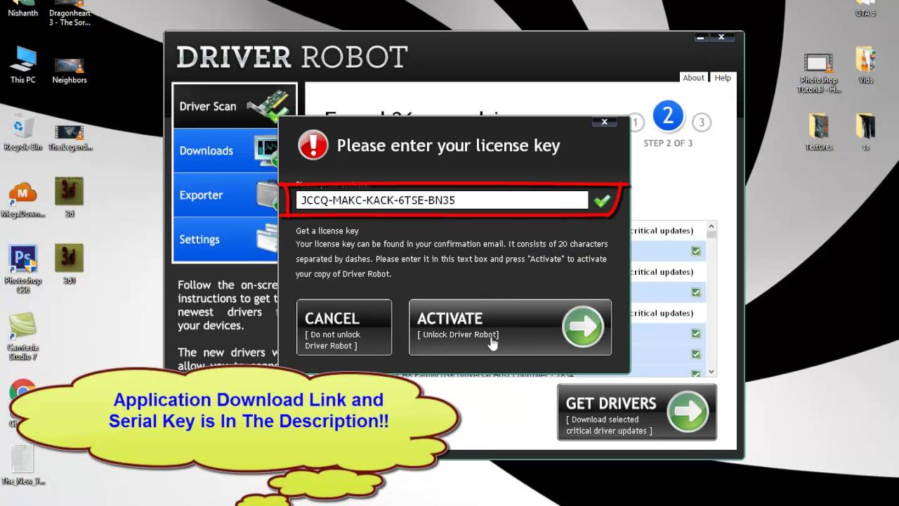driver robot latest version free download