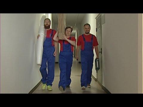 Работа грузчиков (муверов) Три Богатыря