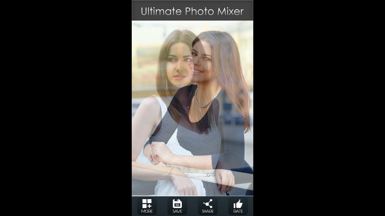 افضل برنامج لدمج الصور بشكل احترافى مع الشرح طريقة التحميل والاستخدام Ultimate Photo Mixer Youtube