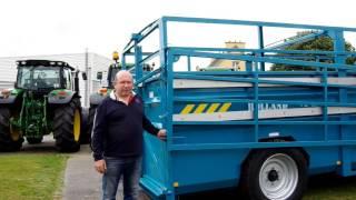 Témoignage client sur les nouveaux équipements des bétaillère ROLLAND