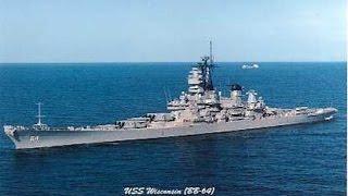 USS Wisconsin (BB-64) Battleship