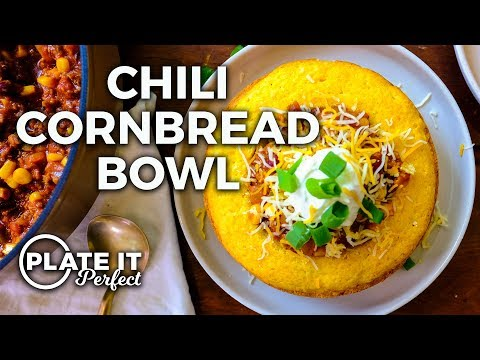 chili-in-a-giant-homemade-cornbread-bowl?!-|-plate-it-perfect