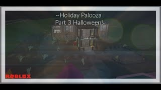 Urlaub Palooza Teil 3 Halloween!| Bloxburg Speed-Build | Roblox
