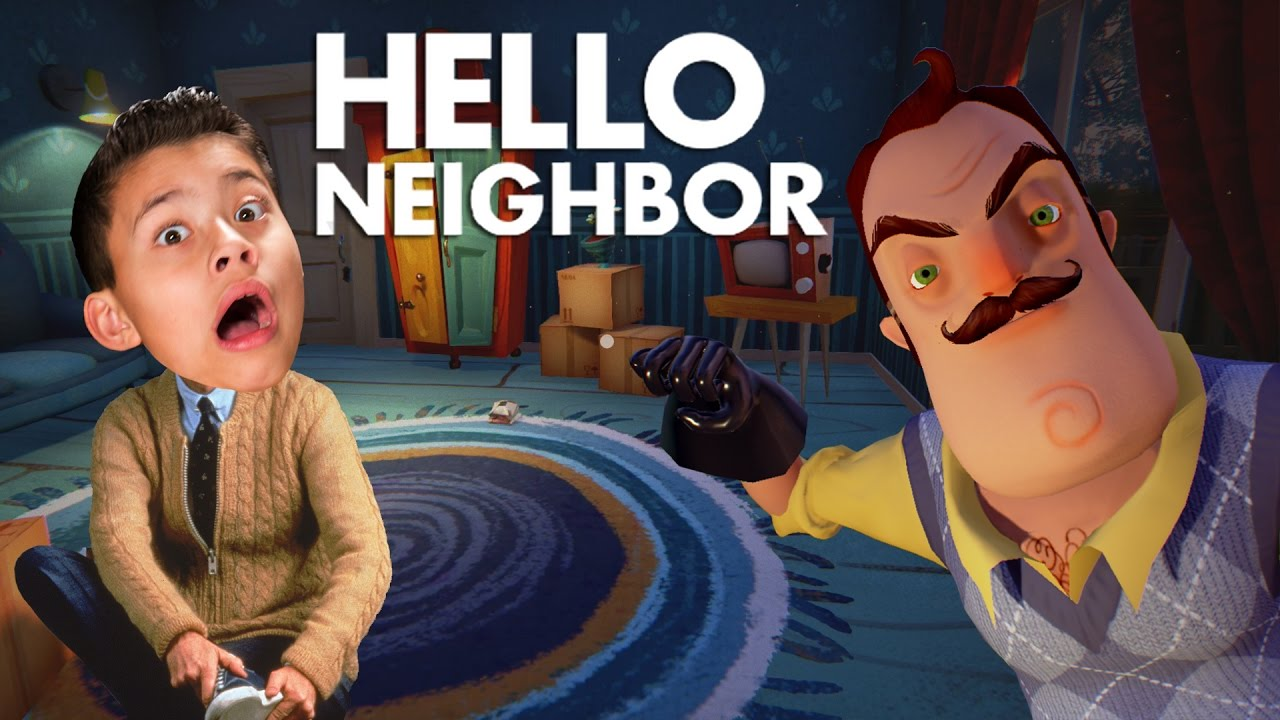 HELLO NEIGHBOR!!! Bathroom Privacy Please! SCARY! - YouTube
