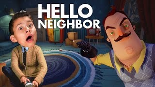 HELLO NEIGHBOR!!! Bathroom Privacy Please! SCARY! thumbnail