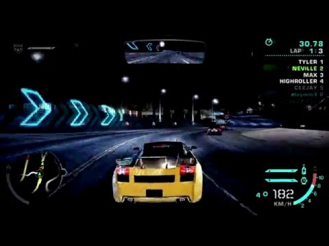 NFS Carbon - Beta/Demo Remake