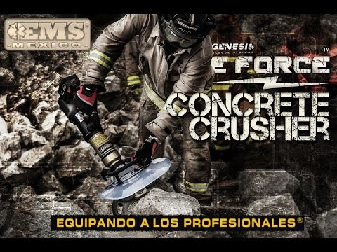 GENESIS | e-Force Concrete Crusher | Equipo BREC