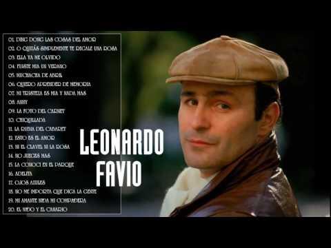 LEONARDO FAVIO Lo Mejor   LEONARDO FAVIO Grandes Exitos   20 Mejores Cancionesbajaryoutube com
