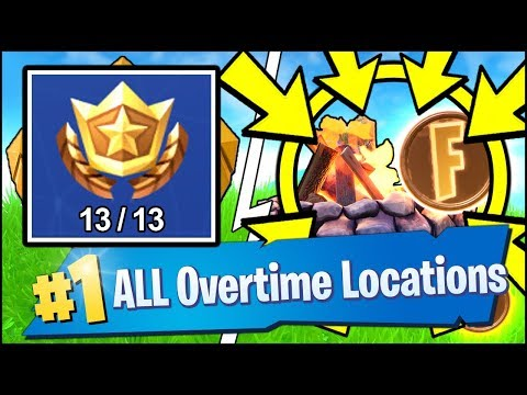 COMPLETE FREE OVERTIME CHALLENGES TO GET SEASON 8 BATTLE PASS, REGAIN HEALTH (Fortnite Overtime)