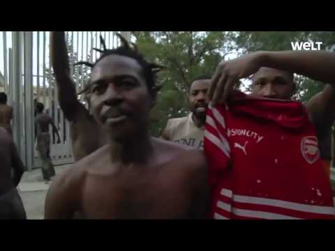 Illegal African Migrants Storm Spanish Exclave in Africa