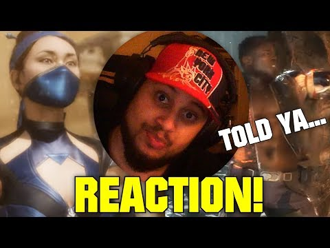 KITANA AND JAX... TOLD YA! | Mortal Kombat 11 Old Skool Vs. New Skool Trailer REACTION!