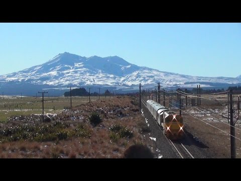 Under the mountain - KiwiRail on the Central Plateau