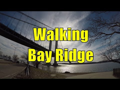 ⁴ᴷ Walking Tour of Bay Ridge, Brooklyn, NYC