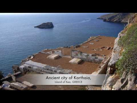 Ancient city of Karthaia, Island of Kea, GREECE