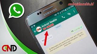 Trik membalas pesan WhatsApp agar tidak terlihat online