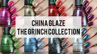 The Grinch Collection | China Glaze | Live Application Review