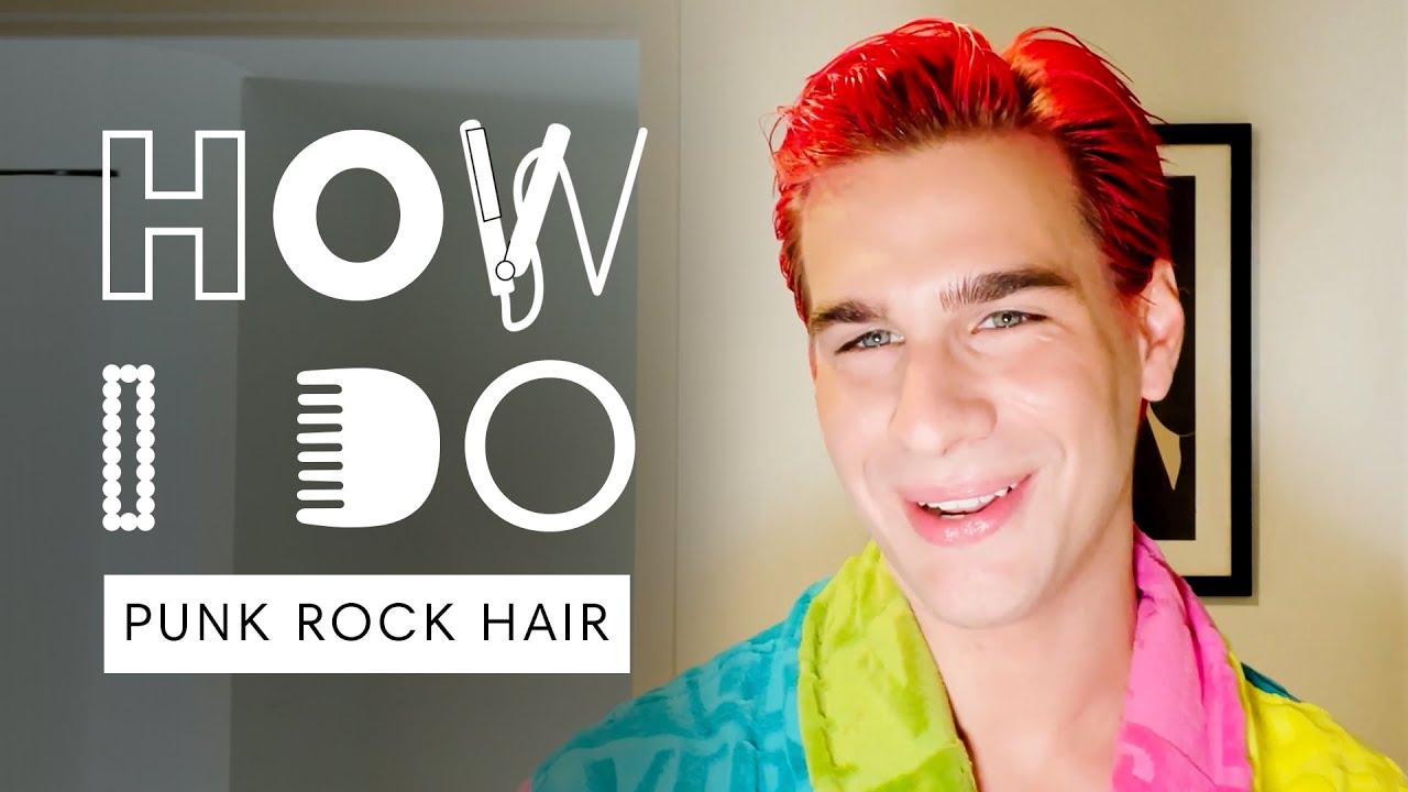 Brad Mondo's Punk Rock Hair Tutorial | How I Do | Harper's BAZAAR