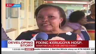 Developing: Fixing Kerugoya Hospital, Health services recently hampered