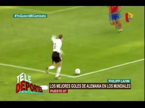 Los mejores goles de Alemania en los mundiales