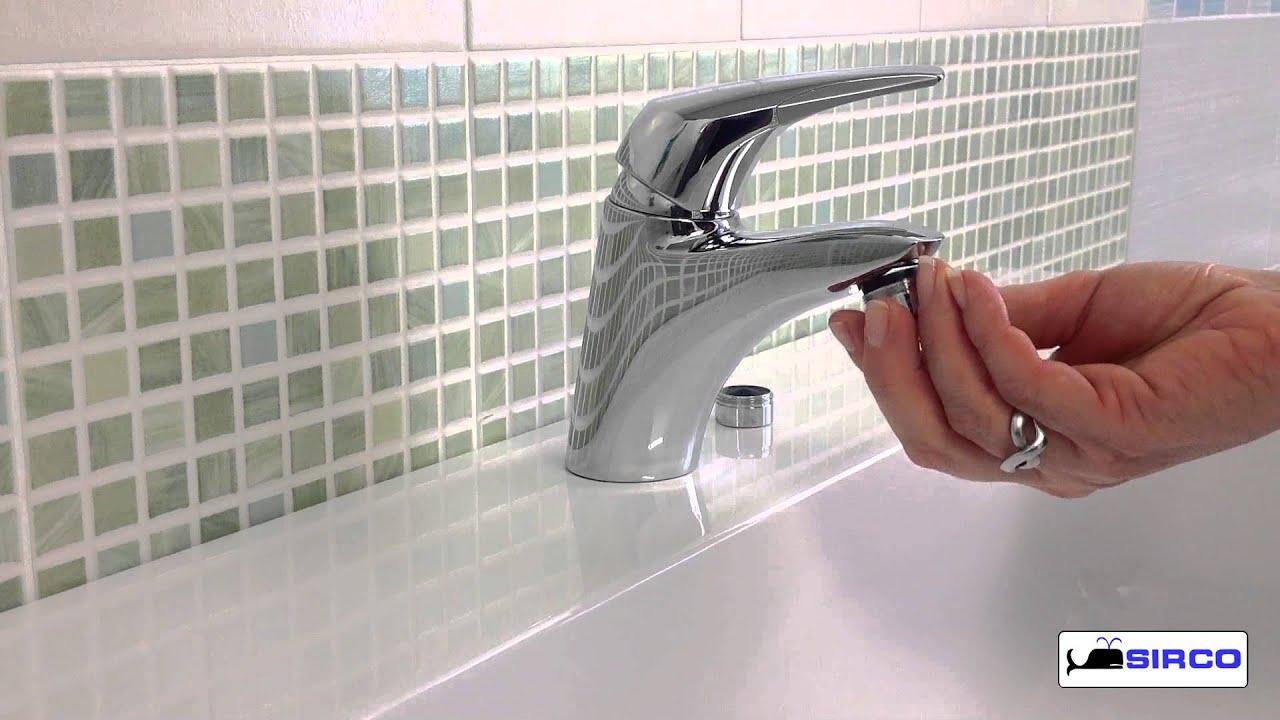 Aeratore rompigetto per rubinetto youtube - Aeratore per bagno ...
