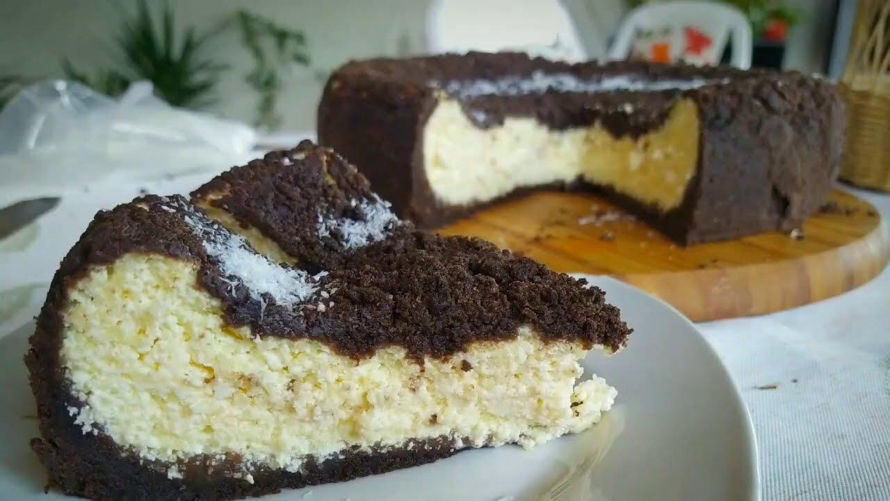 Пирог с творогом Пирог ватрушка Запеканка творожная в тесте