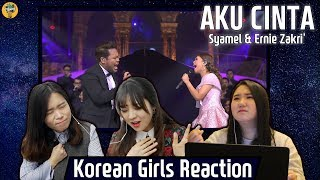 Korean Girls React to 'Aku Cinta' |Syamel & Ernie Zakri|Blimey