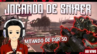COD Black Ops 2: Gameplay de SNIPER DSR-50! Só QUICKSCOPE?