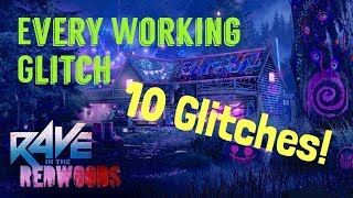 Infinite Warfare Zombies Glitch: Rave in The Redwoods Every Working Glitch (Still Working)