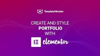 How to Create an Astonishing Portfolio? Elementor Page Builder Tutorial