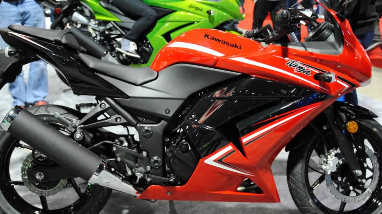 2012 Kawasaki Ninja 250r Red Walk Around Starter Beginner Bike