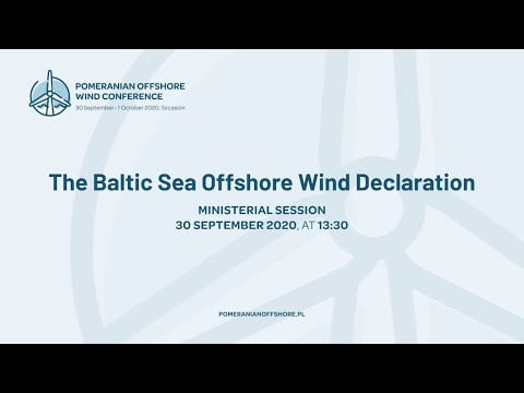 The Baltic Sea Offshore Wind Declaration