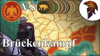 Total War Rome 2 | Brückenkampf | This is Caesar #027 | German
