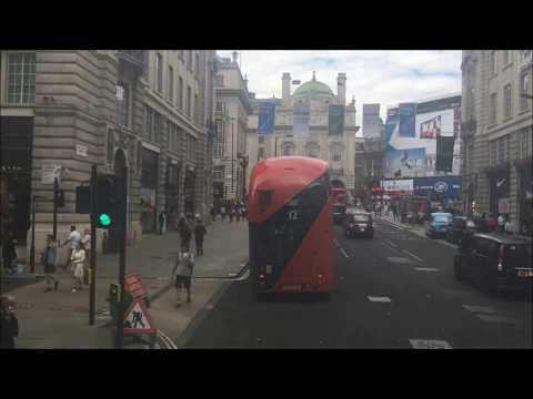 FULL ROUTE VISUAL | London Bus Route 6 - Aldwych to Willesden Bus Garage | VWH2103 (LK15CXB)