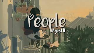 Download Mp3  Lirik  People - August D/suga Mixtape | Terjemahan Indo