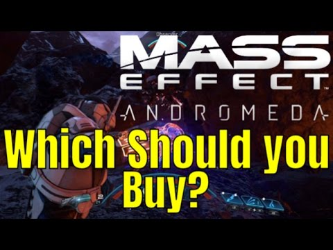 MASS EFFECT: ANDROMEDA - Deluxe Edition Vs Super Deluxe/Which Should you buy?
