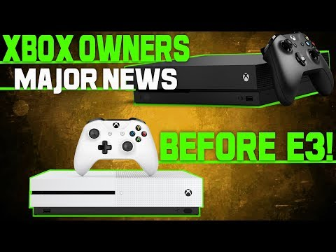 Xbox One Owners Get Tremendous News From Microsoft! And We're Getting It Before E3!