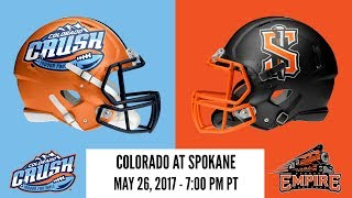 Week 15 | Colorado Crush at Spokane Empire