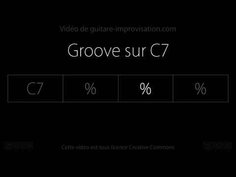 Groove sur C7 : Backing track
