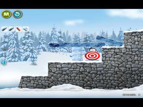 Маша и медведь - Игра в снежки