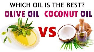 Olive Oil VS Coconut Oil. Which Oil Is The BEST? 5 Reasons To Use Olive Oil | 5-Minute Treatment