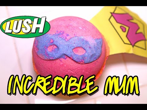 LUSH - INCREDIBLE MUM Bath Bomb - MOTHER'S DAY Collection 2018 Demo & Review Underwater View