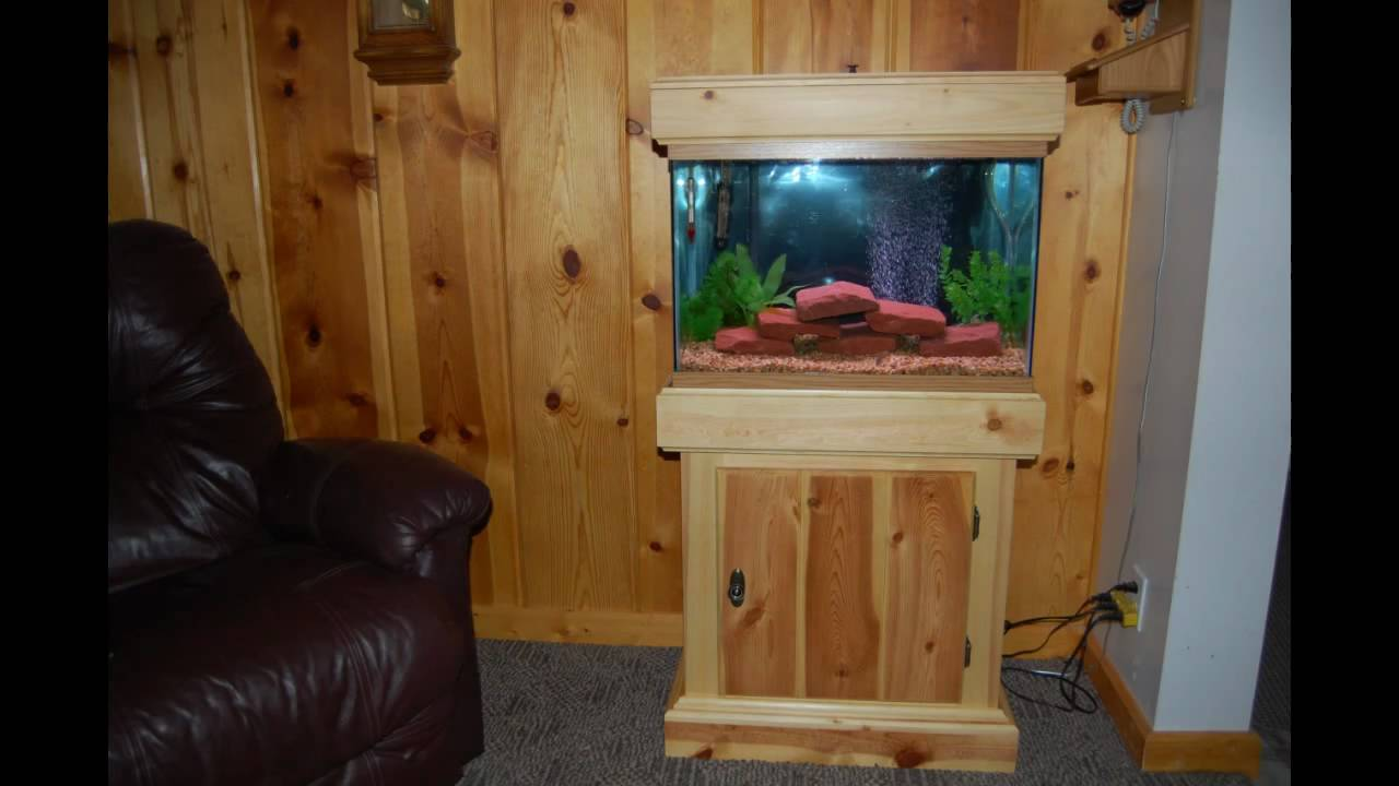 Build an Aquarium Stand - YouTube