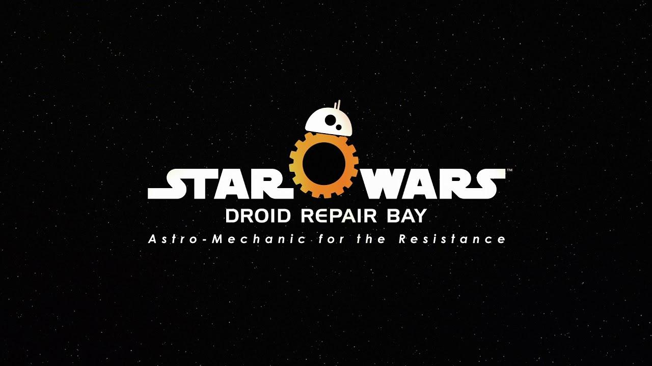 Новости Звездных Войн (Star Wars news): Дебютный трейлер бесплатного VR-проекта Star Wars: Droid Repair Bay