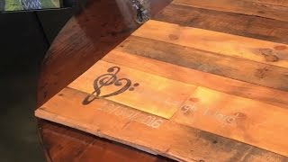 Wedding Guestbook made of Pallet Wood