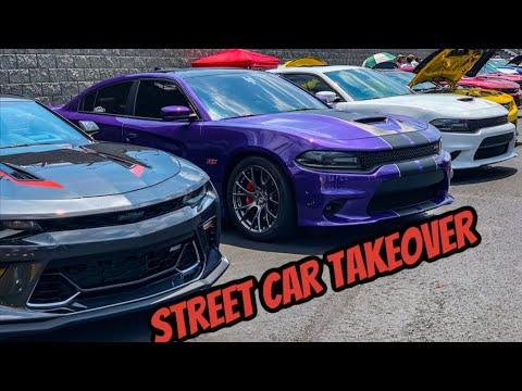 Street Car Takeover At Charlotte Motor Speedway 💯