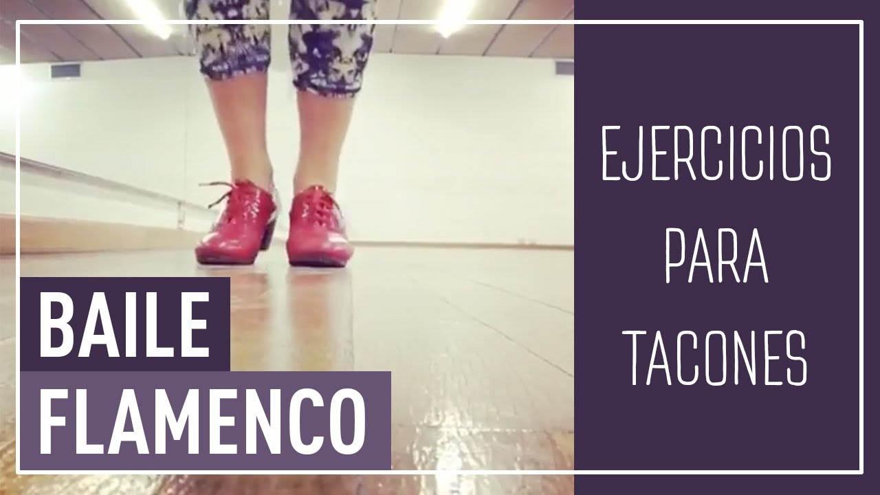 De Zapateado Baile Dance Técnica Flamenco Para ejercicios qB76vax